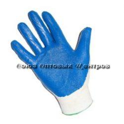 перчатки облитые синие мал. 960/12/10 Арт. 695В