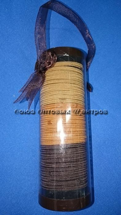 резинка д/волос в тубе /d 4см/ уп 30шт B-1300 /600/12