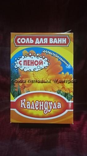 соль д/ванн с пеной Календула 400гр/БАХТАШ/32