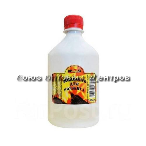 Жидкость для розжига  Runis 500мл (парафин) 1*12