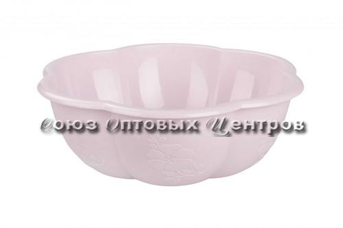 Салатник 3,0 л Восторг розовый без ободка М6854