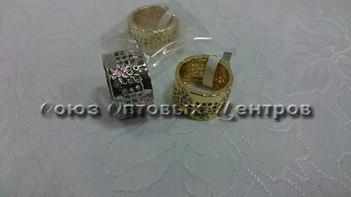 Кольцо (золото, серебро) 03-26-К