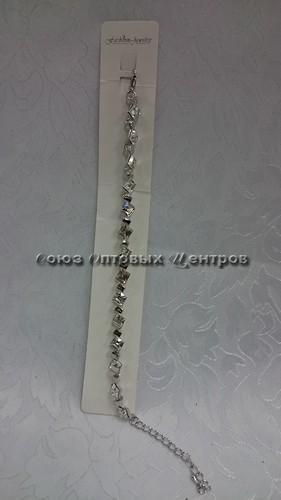Браслет-цепочка (золото, серебро) 15-20-К