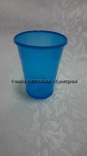 стакан 200мл Эконом синий 100/4200 м