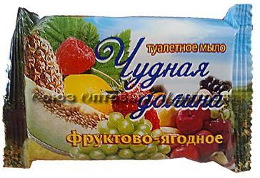 Мыло Чудная долина Фруктово-ягодное 90 гр/72