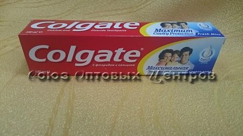 "Зуб.паста ""Колгейт лечебные травы отбел.100мл/48(Колгейт)"