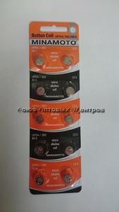 Элемент питания MINAMOTO AG5 (LR754)  /10/200/1000/