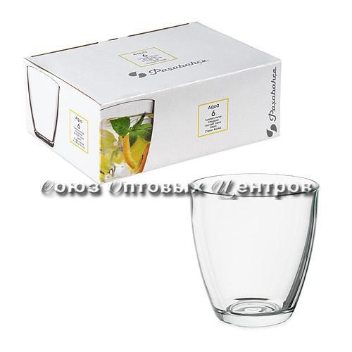 AQUA набор стаканов 6шт  290 мл  52645В