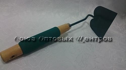 Рыхлитель+тяпка, ручка деревянная+паролон (028617)
