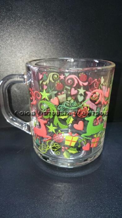 Кружка 07с1335 Green Tea 200мл Олени и подарки круговая уп/20шт