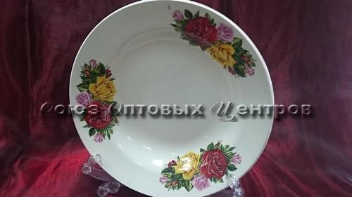 тарелка 200 гл гр8 Розы 055/20