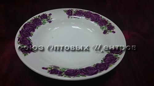 тарелка 200 гл гр8 Бархатная роза С055/20шт