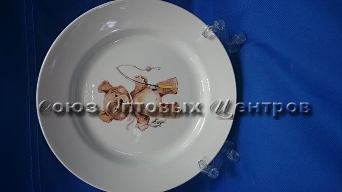 тарелка 200 мел гр8 Медвежата С056/26шт