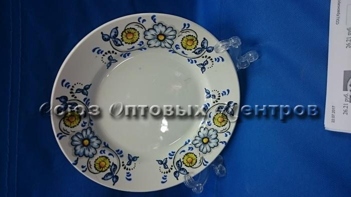 тарелка 175 мел гр8 Расписной СК057 (уп/20)