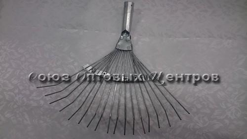 Грабли веерные проволочные оцинк. 18зуб. ГВ-С 662