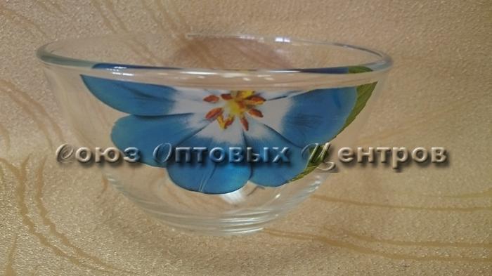 салатник Гладкий 10с1542 13 см  Коллекция цветов уп/12шт 450 мл