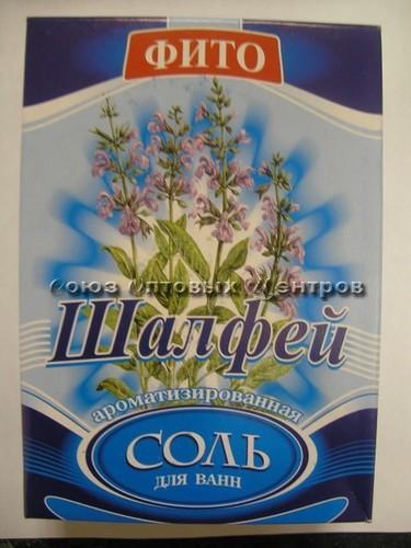 соль д/ванн с пеной Шалфей 400гр/БАХТАШ/32