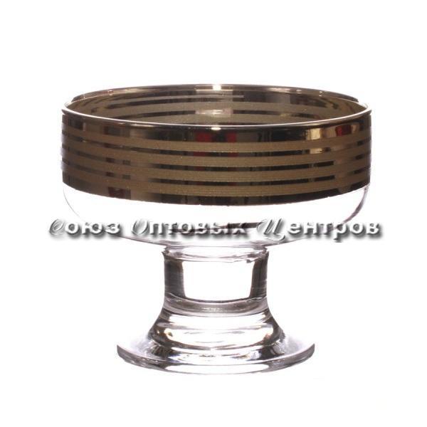 "Креманка д/мороженого ""Иллюзия"" н-р 6 шт EAV65-1016 уп/6"