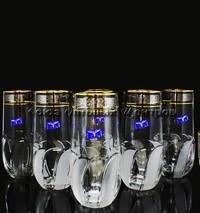 """Стакан д/коктейля """"Флорис"""" хрусталь н-р 6 шт (H-150 мм., V-380 мл.) TD32-27835 уп/2"""