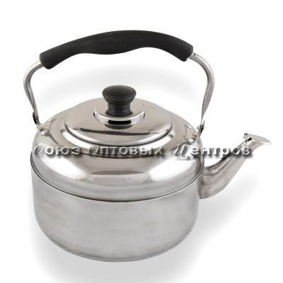 Чайник 4,0л, под. упак.  AST-002-ЧБ-40