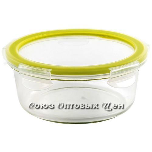 Контейнер герметичный Cristallo  из стекла круглый 0,83л GR1085ОЛ