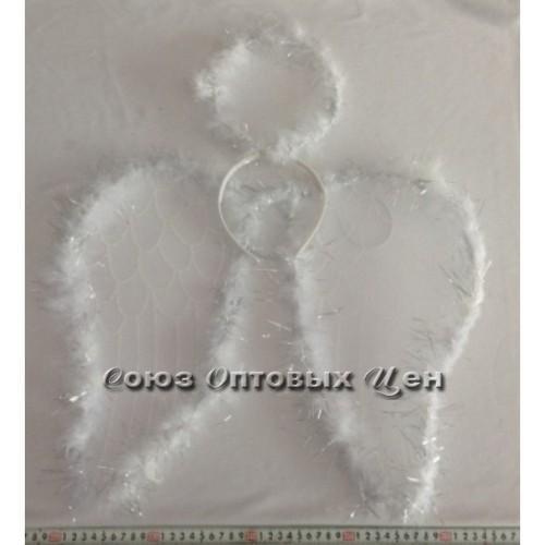 Набор карнавальный Крылья ангела и нимб 047109