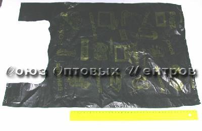 пакет майка ПНД 46*60 Электрон  (100 /2000) 14мкр 21031