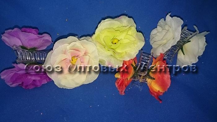 """заколка  для волос """"цветок"""" D-1002 /12/960/"""