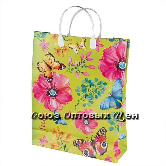 Пакет мягкий пластик, лам Июль 30х40/150 уп/10