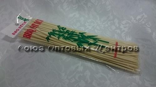 шампур Бамбук 25см*3мм по 100шт 10/200  CF