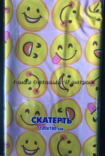 Скатерть для пикника Колобки 120*180/35 мкм, упак по 50, ПВД